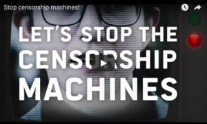 """044524036e7  Vídeo  Deputados Europeus dos maiores grupos políticos publicam vídeo  contra as """"máquinas de"""